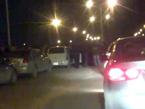 Benghazi (2/15) - Traffic due to protests