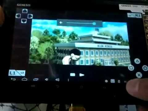 Tutorial Jogos Tablet Genesis GT 7200- Emulador PS1( PSx4DROID) download