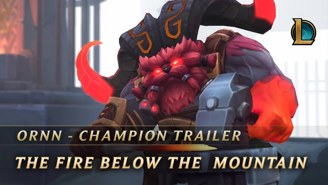 Ornn, the Fire Below the Mountain | Champion Trailer - League of Legends
