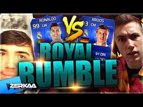 Zerkaa Vs Miniminter | Toty Royal Rumble | Fifa 15 Ultimate Team video