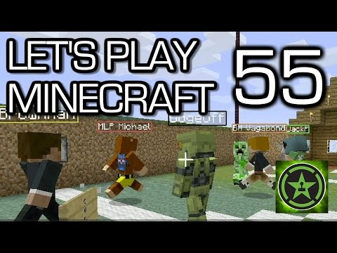 Let's Play Minecraft - Episode 55 - Creeper Soccer