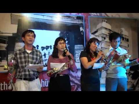 Video 4: Cựu HS Cường Để hội ngộ 40 năm ngày ra trường (1974-2014)