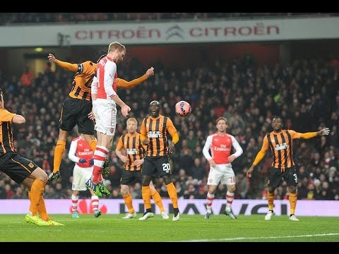 Arsenal vs Hull City 2-0 04/01/2015 FA Cup All Goals Highlights 2015 Review HD