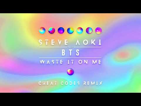 Steve Aoki - Waste It On Me Feat. BTS (Cheat Codes Remix) [Ultra Music]