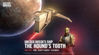 Star Wars: Galaxy of Heroes - Bossk's Hound's Tooth Has Arrived