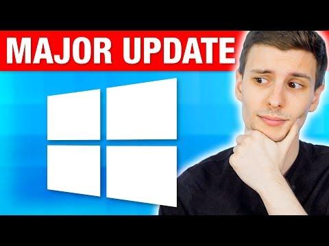 "Windows 10 Major ""Fall Creators Update"" - Best New Features!"