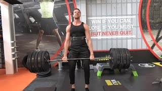 #42 WUTRU IS BACK!| 230KG DEADLIFT | FLANEREN🏆