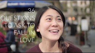 36 Questions To Fall In Love  Strangers Part 1
