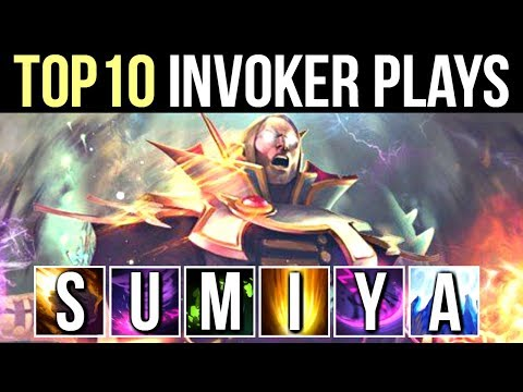 TOP 10 MOST EPIC INVOKER PLAYS by SumiYa Best Invoker Moments WTF Dota 2