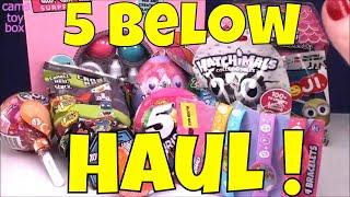 Five Below HAUL TOY SURPRISES Doorables LOL 5 Surprise Shopkins Pikmi POPS Monster High Star Wars