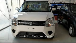 2019 Maruti Suzuki WagonR  MT, VXI, Most Detailed Review, Interior and Exterior | Hindi
