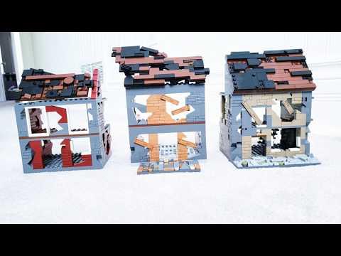 LEGO World War 2 MOC with COBI Tanks