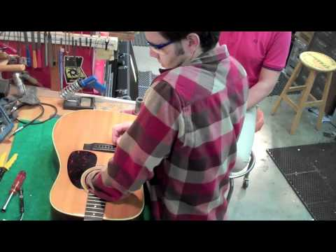 LR Baggs Anthem Pickup installation and demo at Gryphon Stringed Instruments