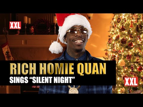 "Rich Homie Quan Sings ""Silent Night"""