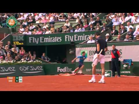 Roland Garros 2014 Tuesday Highlights Djokovic Raonic