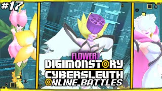 Digimon Story : Cyber Sleuth Online Battles #17 ''Flower Team''