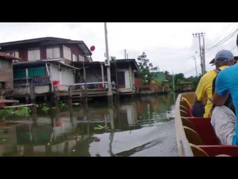 ballade sur les khlongs, quartier thonburi, bangkok