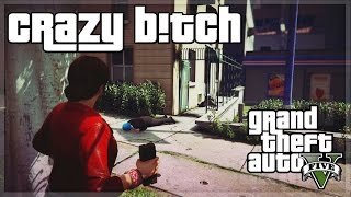 "GTA V - ""CRAZY B!TCH!"" - GTA 5 Funny Moments w/ The Sidemen!"