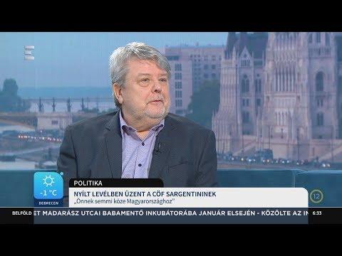Nyílt levélben üzent a CÖF Sargentininek - Csizmadia László - ECHO TV