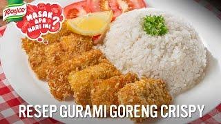 Resep Gurame Goreng Crispy