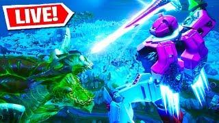*NEW* FORTNITE ROBOT VS MONSTER EVENT RIGHT NOW! FORTNITE LIVE EVENT! (FORTNITE BATTLE ROYALE)