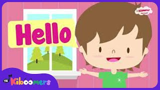 Hello Song | Hello Hello How Are You | Hello Song for Kids | The Kiboomers