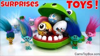 Toys Surprises Opening Mineez Kinder Egg Peppa Pig Lalaloopsy Batman Mashem MLP Fashem Fun Kids Play