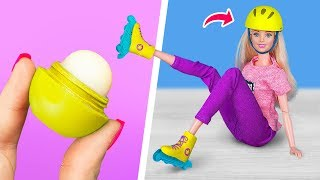 10 Mobili e Accessori Per Le Barbie Ricreati Con Il Make Up Esaurito
