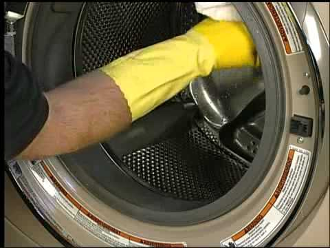How to prevent odor and clean your front load washer