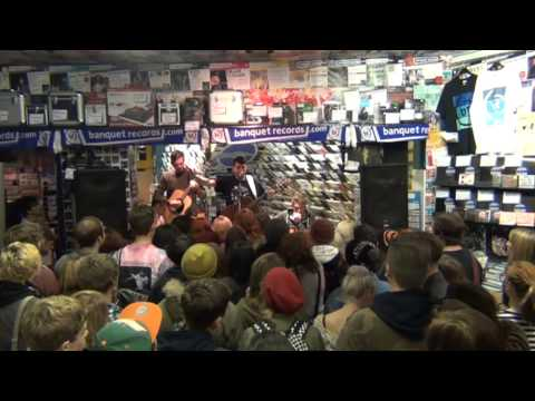 Lower Than Atlantis instore at Banquet Records - Oct 2012