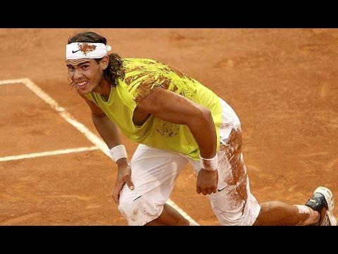 Rafael Nadal v Roger Federer: ATP Rome 2006 Flashback Pt2