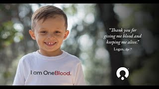 Blood Donors are Logan's Gift of Life