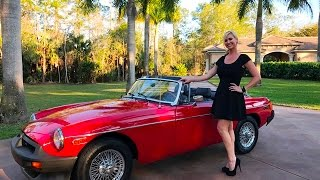 SOLD 1980 MG MGB Roadster, over 25k invested, mint, leather for sale by Autohaus of Naples