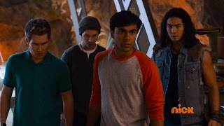 Power Rangers Dino Charge - Knight After Knights - The Scared Rangers (Episode 12)