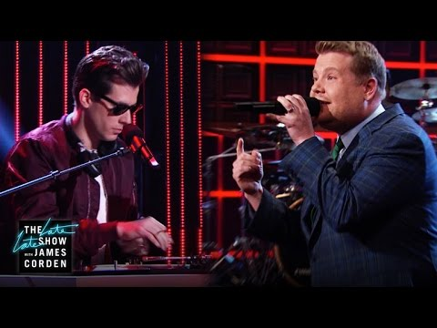 Late Late Show Monologue Rap with Mark Ronson