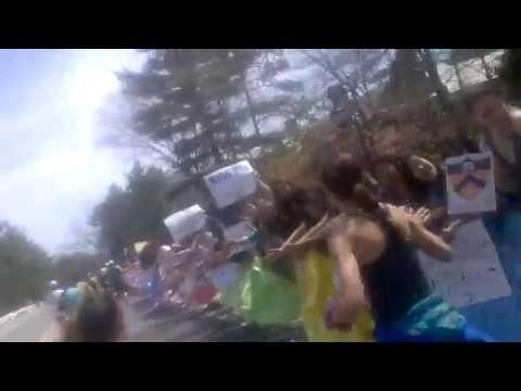 2014 Boston Marathon - Wellesley College