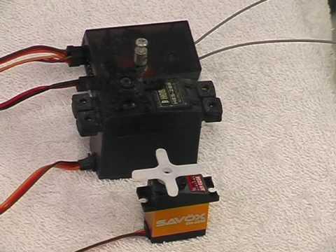 Corona DSSS V2 servo movement
