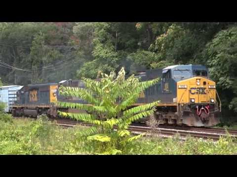 CSX Train Q398 Calling In Trespassers