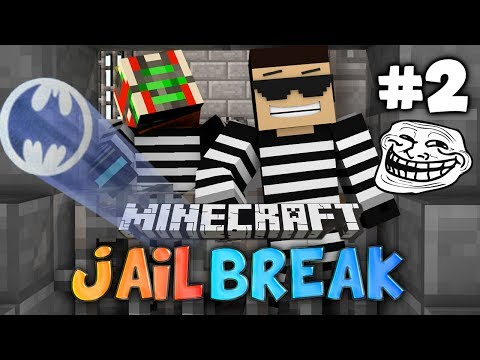 Minecraft: Jail Break #2 MY PEOPLE NEED ME PRISON w GhostGaming
