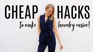 LAUNDRY & WARDROBE HACKS YOU NEED TO KNOW!