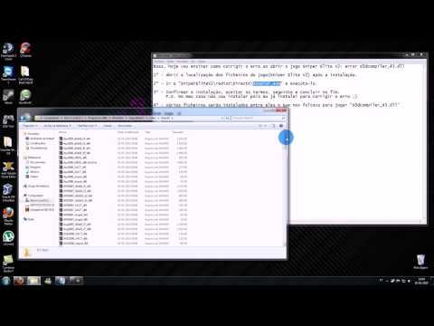 Corrigir erro D3D Compiler 43 dll do Sniper Elite V2