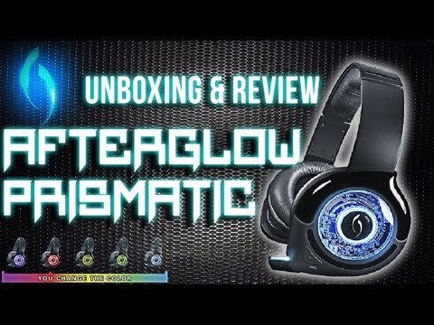 Review: Black AfterGlow Prismatic Wireless Headset  *Unboxing & Review*
