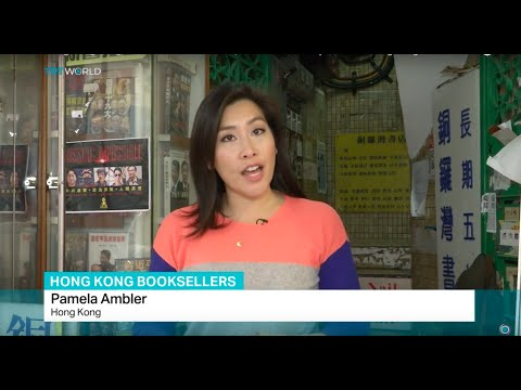 Three missing Hong Kong booksellers held in China, Pamela Ambler reports from Hong Kong