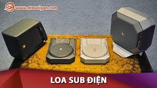 Loa sub điện - Khởi điểm cho việc độ âm thanh xe hơi