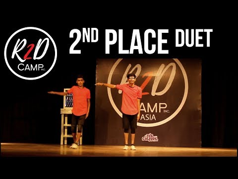2nd Place - Duet - R2D CAMP ASIA (Competition) x totheculture