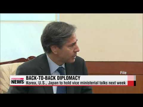 Korea to engage in back-to-back diplomacy with U.S., Japan next week   내주 한미일•한일