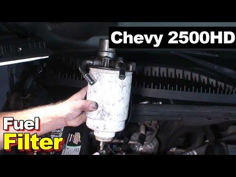 Duramax Diesel 6.6L Fuel Filter 2007 Chevrolet Silverado 2500HD