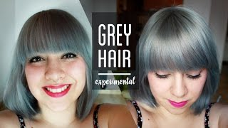 HOW TO GET SILVER HAIR MIXING PRIMARY COLOURS