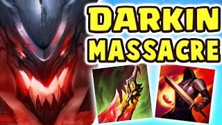 NEVER LOST A GAME BEFORE | LEGENDARY DARKIN KAYN JUNGLE | TOO MUCH POWER | 1HP SURVIVAL - Nightblue3
