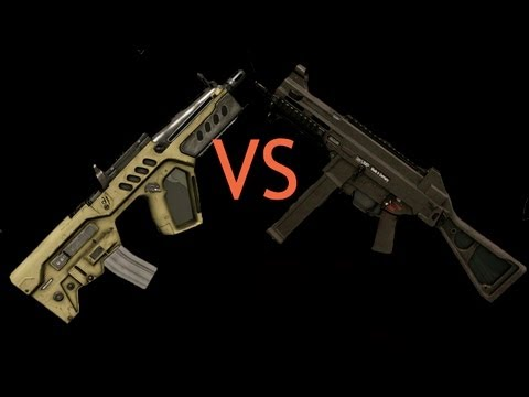 Warface: Tavor CTAR-21 vs H&K UMP  [Мармур vs АндПав]